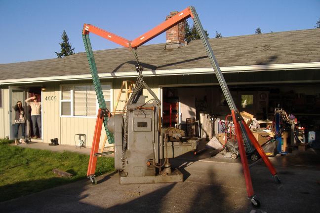 homemade wood gantry crane plans   homemade ftempo
