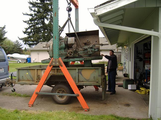 wood gantry crane plans